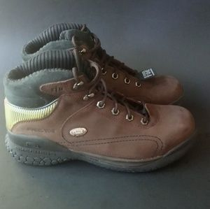 272c486d271 GTA SKECHERS WORK~ STEEL TOE LEATHER BOOTS, Size11